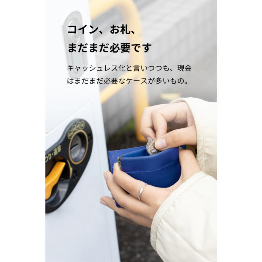 コインケース 革 本革 カードも入る 日本製 walpac KG-Y167|asoboze|04