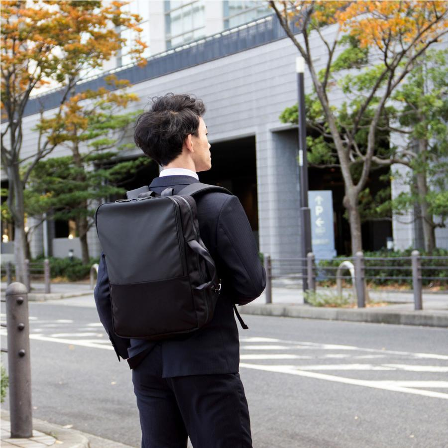 ビジネスリュック メンズ 2WAY 軽量 日本製 大容量 タフトサック|asoboze|02