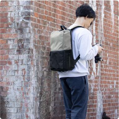 リュックサック メンズ ビジネス 防水 軽量 大容量 日本製 PC収納 タフトサック asoboze 07