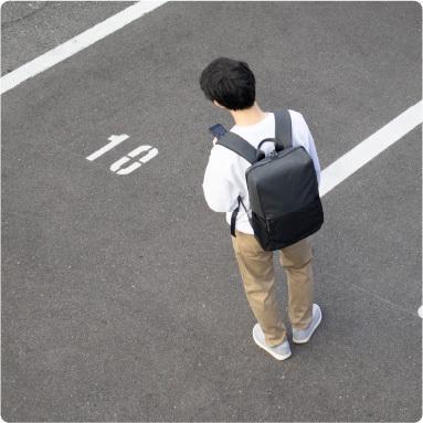 リュックサック メンズ ビジネス 防水 軽量 大容量 日本製 PC収納 タフトサック asoboze 08