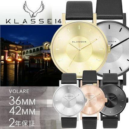 2年保証 KLASSE14 予約 クラス14 腕時計 ウォッチ メンズ レディース VO14BK002 VO14SR001 レザーamp;メッシュベルト VOLARE VO14GD003 男女兼用 36amp;42mm