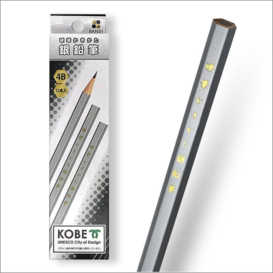 硬筆かきかた銀鉛筆 1ダース 12本入り asone-ys