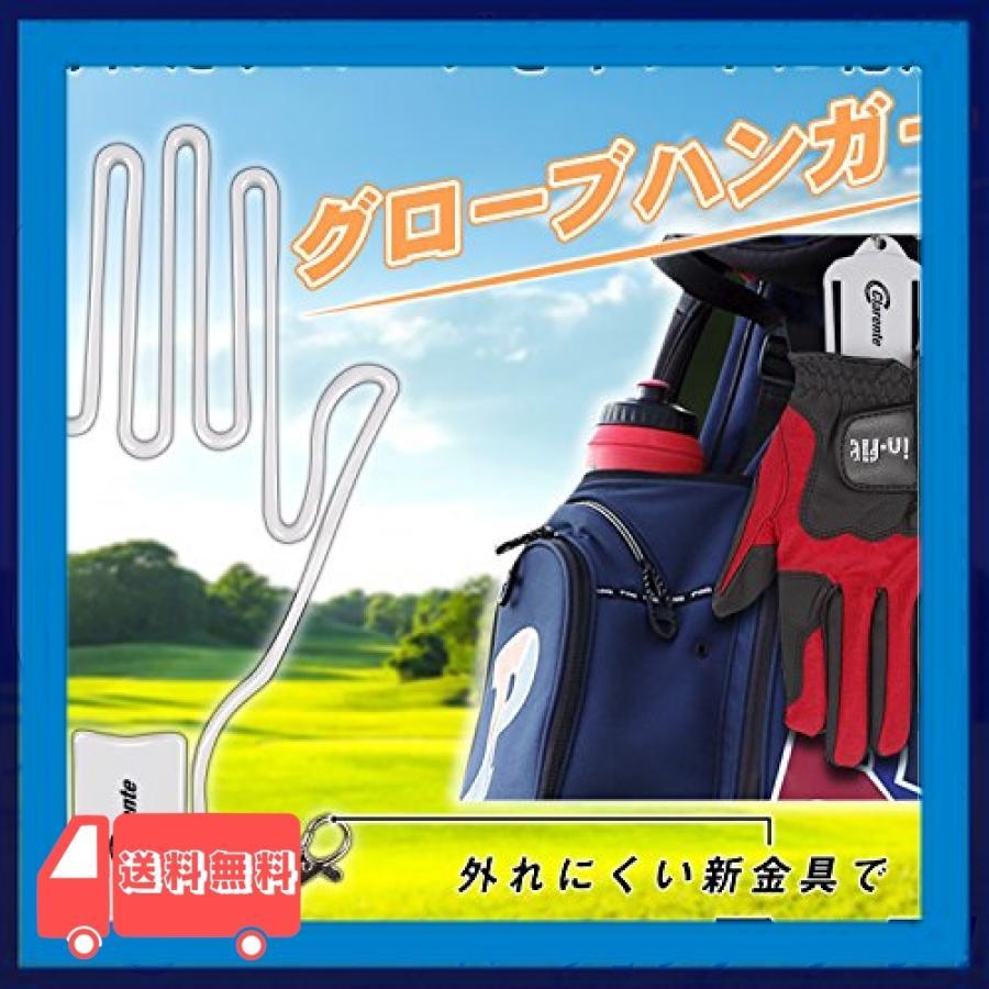 Clarente ゴルフグローブハンガー 型崩れ させずに 干せる 外れにくい 手袋ホルダー|asotosi55|02