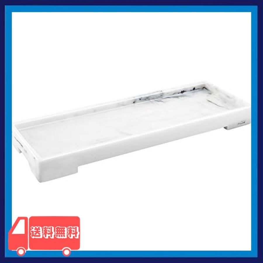Luxspire 小物トレ 樹脂製 洗面所/浴室/お風呂/キッチン用 おしゃれ スペース節約 化粧品・タオル・ジュエリーな|asotosi55