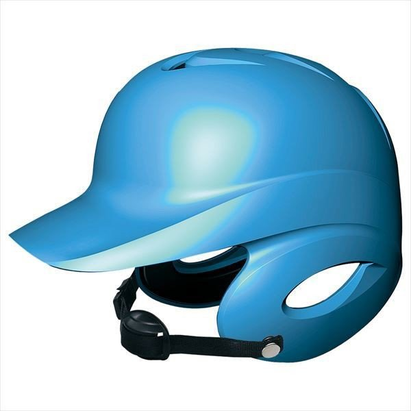 [SSK]エスエスケイ野球 少年硬式打者用両耳付きヘルメット (H5500)(60) ブルー[取寄商品]