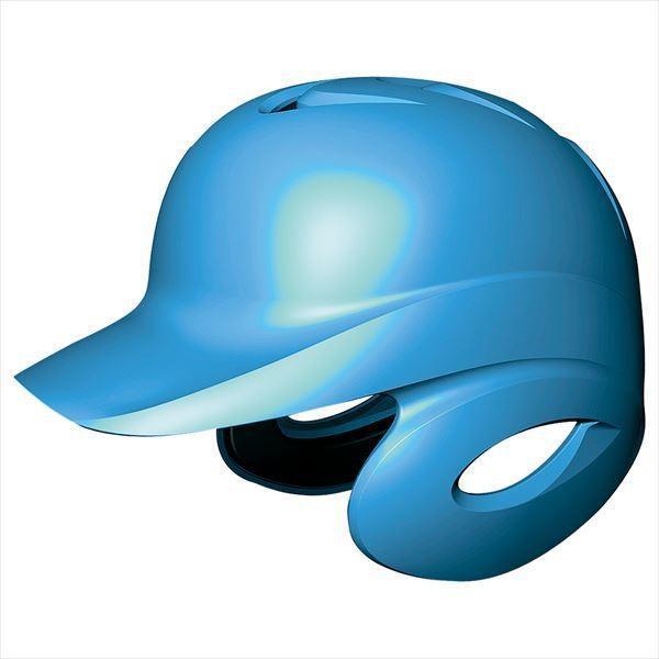[SSK]エスエスケイ野球 ソフトボール打者用両耳付きヘルメット (H6500)(60) ブルー[取寄商品]