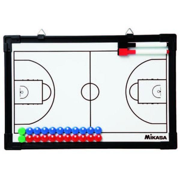 [Mikasa]ミカサ バスケットボール用 作戦盤 フル・ハーフ両面タイプ (SBB) ※ラッピング不可商品です[取寄商品]