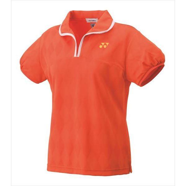 [YONEX]ヨネックス レディースゲームシャツ (20437)(005) オレンジ[取寄商品]