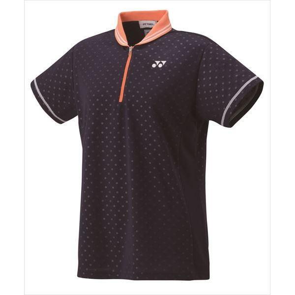 [YONEX]ヨネックス レディースゲームシャツ(レギュラー) (20441)(019) ネイビーブルー[取寄商品]
