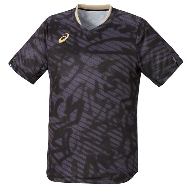1点までメール便可 asics アシックス 男女兼用卓球ゲームシャツ クールゲームシャツ おすすめ特集 001 パフォーマンスブラック セール価格 2073A016