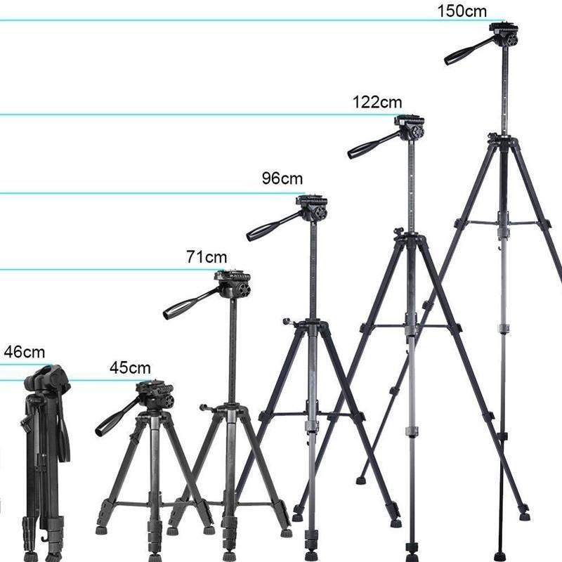 三脚  ビデオカメラ  一眼レフ カメラ デジカメ 用 アルミ 軽量 雲台 クイックシュー レバーロック 4段階伸縮 運動会 登山 asshop 09