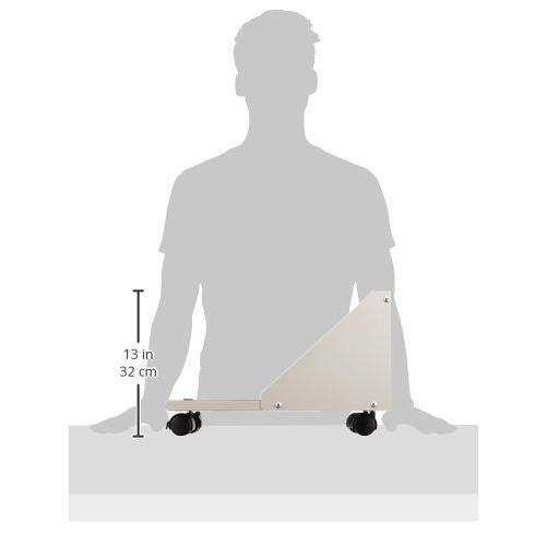 ナカバヤシ CPUワゴン ミニタワー対応 ホワイトグレー RXN-104|assign-1|04