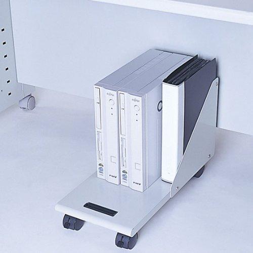ナカバヤシ CPUワゴン ミニタワー対応 ホワイトグレー RXN-104|assign-1|06