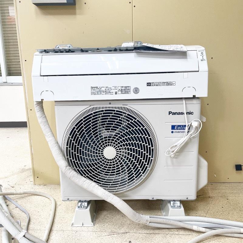 パナソニック エアコン エオリア おもに6畳用 冷房 6〜9畳 暖房 5~6畳 CS-J220D リモコン付き 中古 現状引き渡し 2020年製 (U) assist-shichi