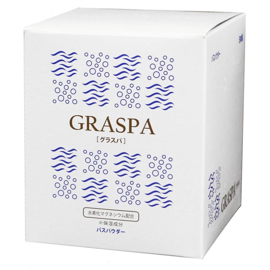 高濃度水素スパ GRASPA[グラスパ] 高濃度水素入浴剤/ナノH2スパ/15包入り assot 02