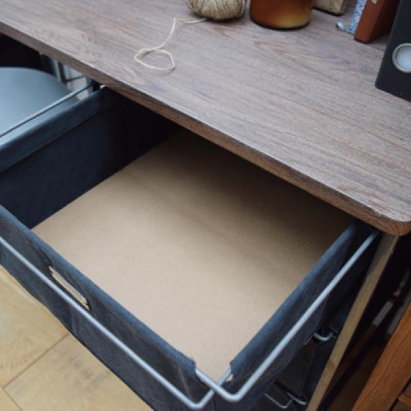 デスク 机 ブラック おしゃれ 北欧 収納 引き出し インテリア MIP-97BK / 東谷|astas-shop|09