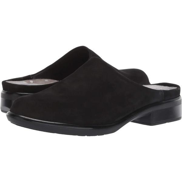 【あすつく】 ナオト サンダル シューズ レディース Lodos Black Velvet Nubuck, アズサガワムラ 6c13436c