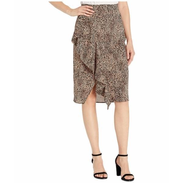 登場! ワンステイト スカート ボトムス レディース Ruffle ボトムス Front Leopard Muse Ruffle Pencil スカート Skirt Caramel Multi, 新庄市:63bc9a24 --- opencandb.online