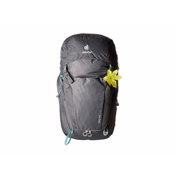 【代引き不可】 ドイター バックパック・リュックサック バッグ レディース Trail Pro Pro 34 Trail バッグ SL Graphite/Black, レザー生地販売 「布百選」:6f1779ea --- fresh-beauty.com.au
