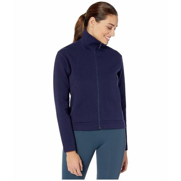 配送員設置 リュー コート アウター レディース Ethos Track Jacket Evening Blue, 人気ブランドを 46453f63