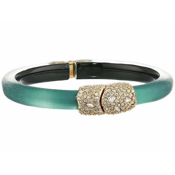 買い保障できる アレクシス ビッター ブレスレット レディース・バングル・アンクレット アクセサリー Encrusted レディース Hinge Crystal Encrusted Clasp Skinny Hinge Bracelet Teal Blue, capax Online Shop:8aa7da70 --- airmodconsu.dominiotemporario.com