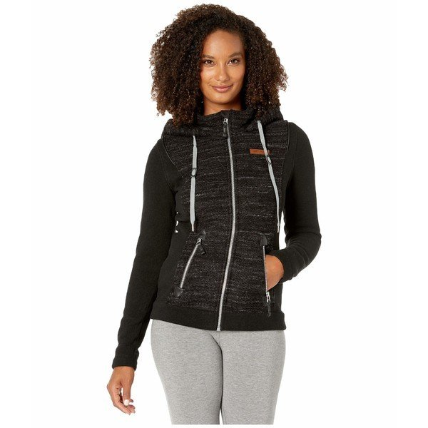 【ご予約品】 オバマイヤー コート アウター レディース Ella Fleece Jacket Black 1, バランタイン 6cdeb602