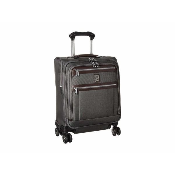 トラベルプロ ボストンバッグ バッグ メンズ Platinum Elite - International Expandable Carry-On Spinner Vintage グレー