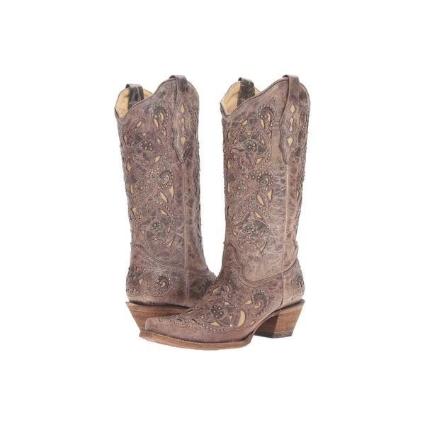 コーラルブーツ ブーツ&レインブーツ シューズ レディース A1098 褐色/Crater Bone