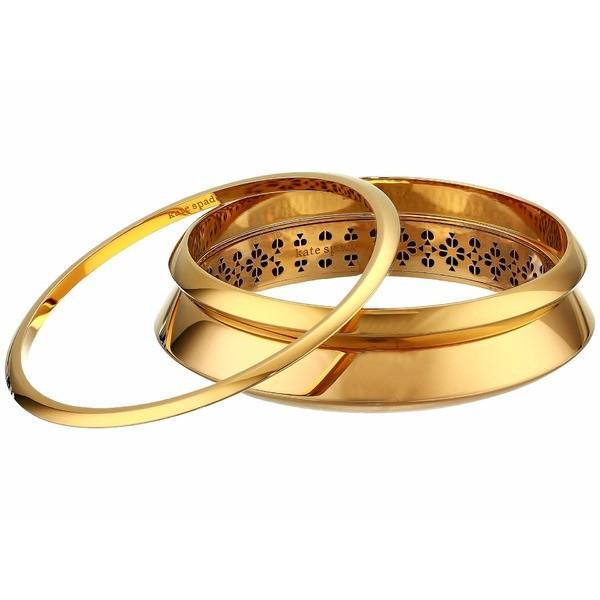 第一ネット ケイト スペード ブレスレット・バングル・アンクレット アクセサリー レディース Raise The Bar Bangle Set Gold, 湘南こまものや aa94945d
