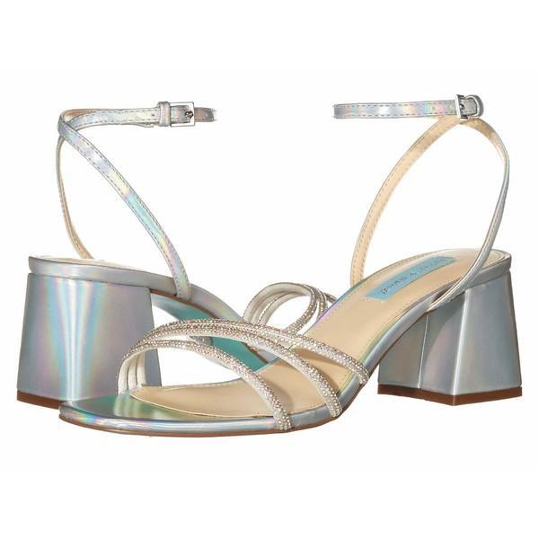 【おトク】 ブルーバイベトシージョンソン レディース ヒール シューズ レディース Sandal Anika Heeled Heeled Sandal Silver, 垂水区:bd8c143b --- fresh-beauty.com.au