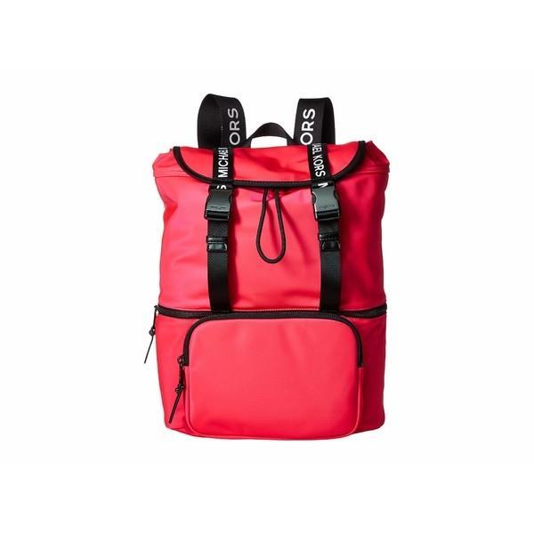 ずっと気になってた マイケルコース バックパック・リュックサック バッグ Backpack レディース The Michael レディース Bag Pink Large Flap Backpack Neon Pink, マリン用品の阪栄商会:d33d8cef --- sonpurmela.online
