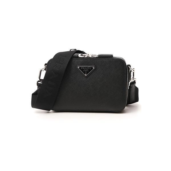 プラダ メンズ ショルダーバッグ バッグ Prada Brique Camera Bag -