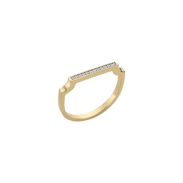 独特の素材 モニカヴィナダー リング アクセサリー レディース Thin Monica Vinader Signature Gold/ アクセサリー Thin Diamond Ring Gold/ Diamonds, Kirei:a9178bdb --- airmodconsu.dominiotemporario.com