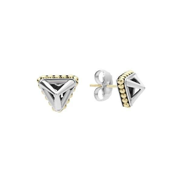 【あす楽対応】 ラゴス ピアス&イヤリング アクセサリー レディース LAGOS KSL Pyramid Stud Earrings Silver/ Gold, 東京ヒマワリ 677aa3ff