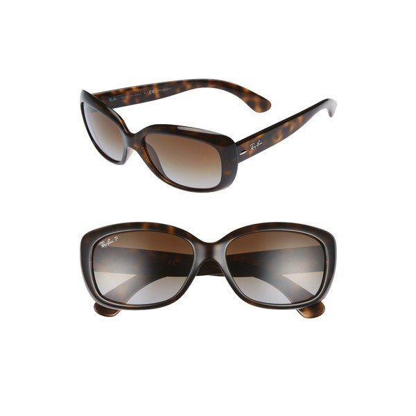 激安正規  レイバン サングラス&アイウェア アクセサリー レディース Ray-Ban 58mm Polarized Sunglasses Havana, 神戸摩耶山 オテルド摩耶 a543bf5f
