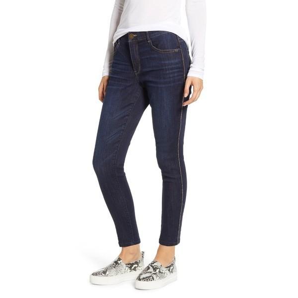 ウィットアンドウィズダム カジュアルパンツ ボトムス レディース Wit & Wisdom Ab-solution High Waist Modern Skinny Ankle Jeans Indigo