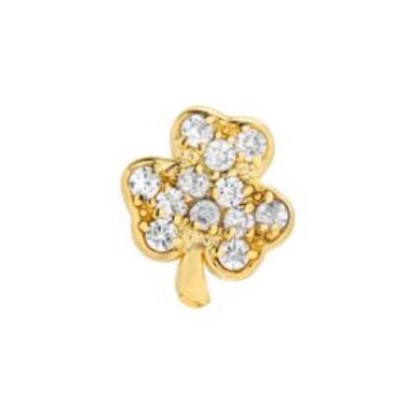 上等な ミニミニジュエルズ ピアス Mini&イヤリング Shamrock Gold アクセサリー レディース Mini Mini Jewels Diamond Icon Shamrock Earring Yellow Gold, ヨシノガワシ:6c046b7f --- airmodconsu.dominiotemporario.com
