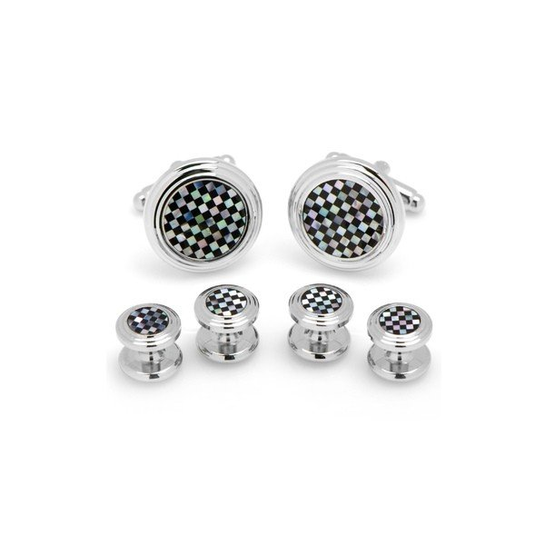 適切な価格 カフリンク カフスボタン アクセサリー メンズ Cufflinks, Inc. Shirt Onyx Pearl & Cuff Mother of Pearl Shirt Studs & Cuff Links Black, miyabi:b23fd2a7 --- airmodconsu.dominiotemporario.com