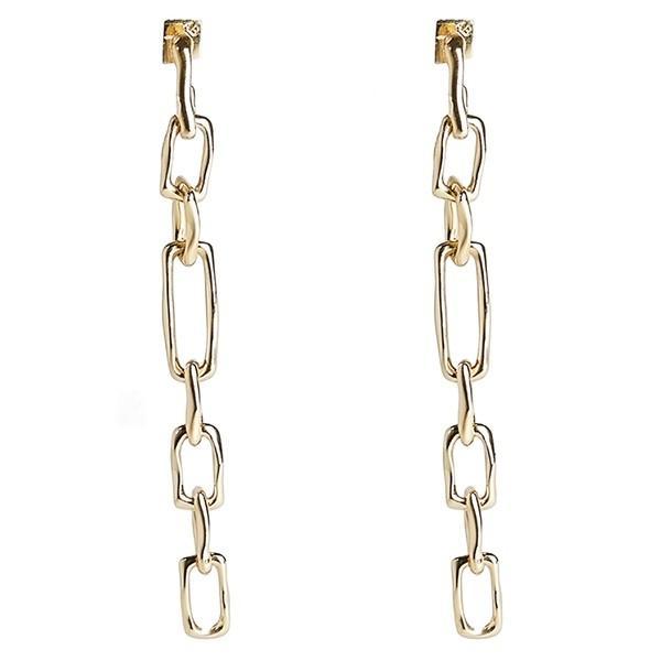 早割クーポン! アレクシス ビッター ピアス&イヤリング アクセサリー Gold Earrings レディース Alexis Bittar アクセサリー Future Antiquity Long Chain Drop Earrings Gold, ビューティーショップ フルール:89973077 --- airmodconsu.dominiotemporario.com
