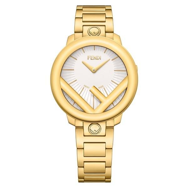 海外最新 フェンディ 腕時計 Gold アクセサリー Silver/ レディース Fendi Run Away Bracelet Run Watch, 36mm Gold/ Silver/ Gold, スポーツオーソリティ バリュー:5639b1b7 --- airmodconsu.dominiotemporario.com