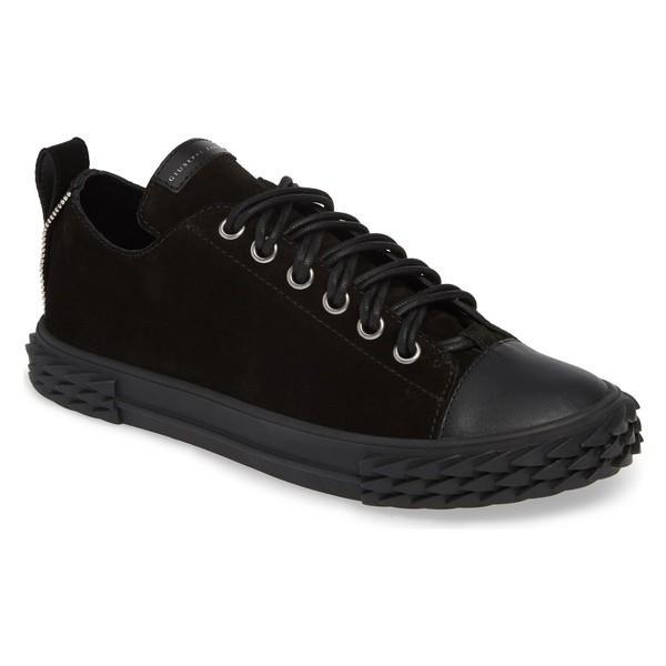 【売り切り御免!】 ジュゼッペザノッティ スニーカー (Men) シューズ メンズ Giuseppe Zanotti Double Double Lace Sneaker スニーカー (Men) Nero/ Black, 挨拶状 はがき 印刷 帰蝶堂:73da7c4e --- sonpurmela.online