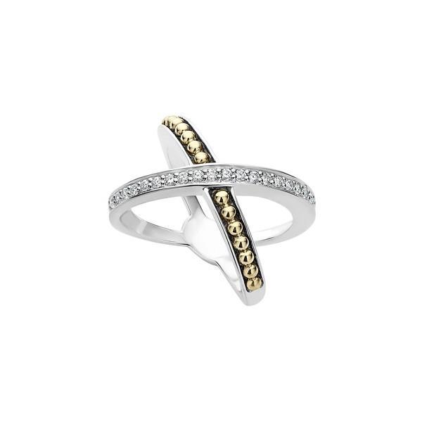 超特価SALE開催! ラゴス リング Gold/ レディース Lagos KSL Diamond Pav Crossover リング Ring Pav Silver/ Gold/ Diamond, 無農薬栽培食品 スローフーズ:3bc6fd9d --- airmodconsu.dominiotemporario.com