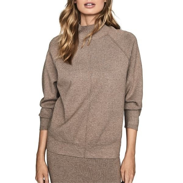 レイス ニット&セーター アウター レディース Reiss Andrea Turtleneck Sweater 褐色