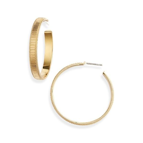 【初回限定】 アナベック ピアス&イヤリング アクセサリー Large アクセサリー レディース Anna Beck Gold Ribbed Large Hoop Earrings Gold, タネイチマチ:4e48e49c --- airmodconsu.dominiotemporario.com