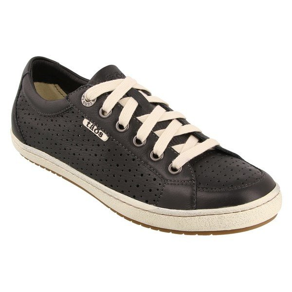 人気商品 タウス スニーカー シューズ レディース Taos Jester Lace-Up Sneaker (Women) Black Leather, HATSHOP NISHIKAWA 095cd474