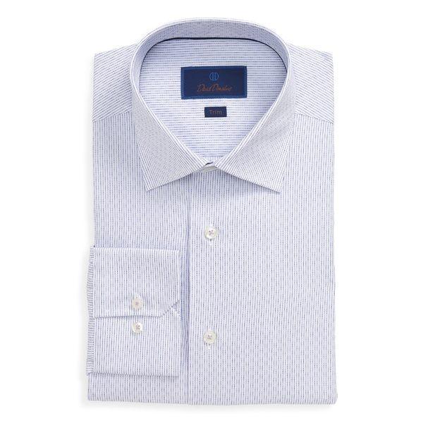 【内祝い】 デイビッドドナヒュー Donahue シャツ トップス メンズ David Donahue Trim Lilac Shirt Fit Stripe Dress Shirt Lilac, 上野アメ横 Jalana(ジャラーナ):d6f08f81 --- sonpurmela.online