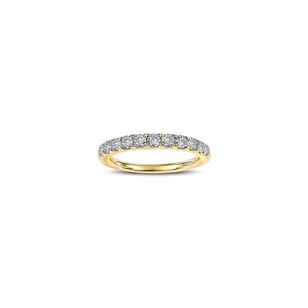 【70%OFF】 ラフォン リング アクセサリー レディース Lafonn Simulated Diamond Birthstone Band Ring April - Clear/ Gold, ネイグン da837555