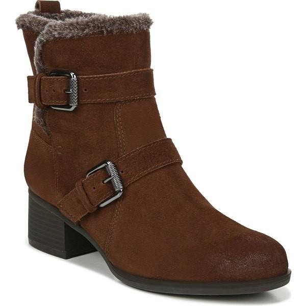 通販 ナチュライザー ブーツ&レインブーツ シューズ レディース Naturalizer Deanne Waterproof Boot (Women) Cinnamon Suede, 白衣のおおぎや ee37b5da