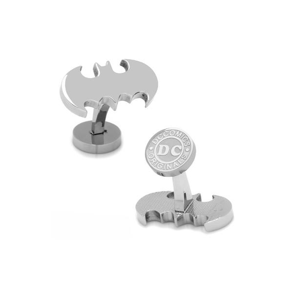 【お得】 カフリンク カフスボタン アクセサリー メンズ Cufflinks, Inc. Classic Batman Cuff Links Silver, ステップスポーツ 09093fd9