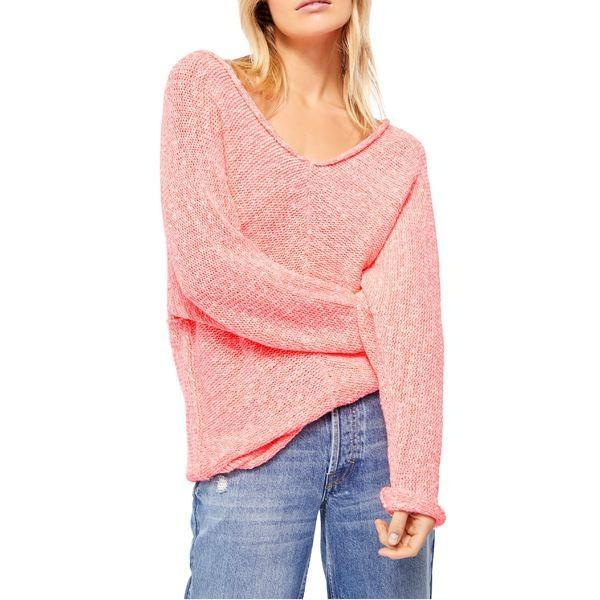 【別倉庫からの配送】 フリーピープル ニット&セーター Lights アウター レディース Free Free People Bright Lights Pink Sweater Pink, のれんタペストリー遊彩:3af2f195 --- theroofdoctorisin.com